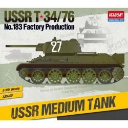 1/35 USSR T-34/76 No.183 Factory Production - ACA13505