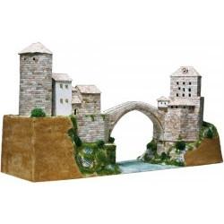 1/130 Stari Most. Mostar-Bosnia and Herzegovina S.XVI dim.690x215x355mm (Pcs.5890) - AED1204