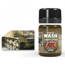 [WEATHERING] WASH FOR DARK YELLOW VEHICLES - AKIAK-0300