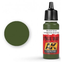 MEDIUM GREEN / M-44 MIDTONE GREEN DOTS - AKIAK-3025