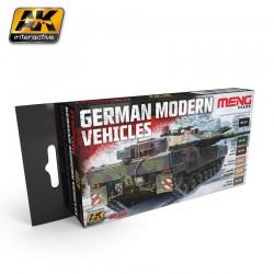 GERMAN MODERN VEHICLES COLORS SET - AKIMC-0802