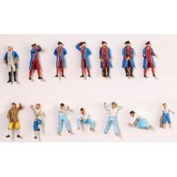 Hermione La Fayette: Set of 14 metal figures - ASL22517F