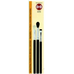 KIT 3 pennelli sfumatura pastello mod.1 - BEB26473