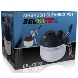 AIRBRUSH CLEANING POT - BELAIRCP001