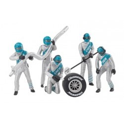 Set of figures, mechanics, silver - CRR20021133
