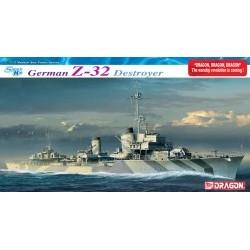 1/350 German Z32 Destroyer (Smart kit) - DRA1065D