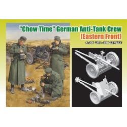 1/35 Chow Time German Anti-Tank Crew w/3.7cm PaK 35/36 - DRA6697D