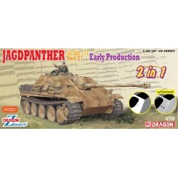 1/35 Jagdpanther Early Production (2 in 1) - DRA6758