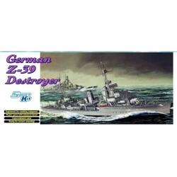 1/700 GERMAN Z-39 DESTROYER (SMART KIT) - DRA7103