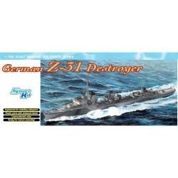 1/700 GERMAN Z-31 DESTROYER (SMART KIT) - DRA7126