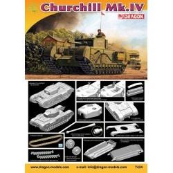 1/72 Churchill Mk.IV  - DRA7424D