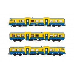 RENFE, diesel railcar, class 592, blue/yellow livery - ELEE3421