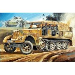 """1/72 Pz.Kpfw IV ausf.F2 & 8t Half Track & 88mm Gun Flak 18 """"Rommel Afrika Korps"""" - HAS30046"""
