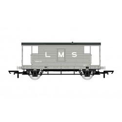 LMS, D1919 20T Brake Van, 730473 - Era 3 - HORR6907A
