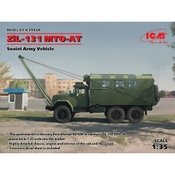 1/35 ZiL-131 MTO-AT, Soviet Recovery Truck - ICM35520