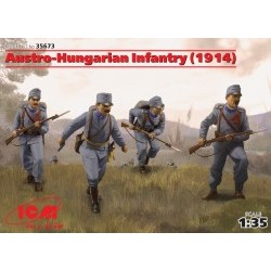 1/35 Austro-Hungarian Infantry (1914) (4 figures) - ICM35673