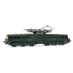Electric locomotive CC14100, green/yellow livery, SNCF 4 lights without additional hood DC Digital with Sound (Country FR) - JOUHJ2346S