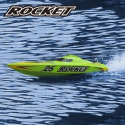 Rocket 2.4G RTR brushed, with 11.1V 1300mAh LiPo & 3S balance charger and DC adapter - JOY8601