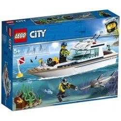 LEGO City GreatVehicles - Yacht per immersioni - LEG60221