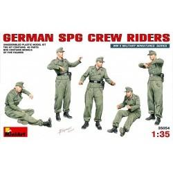 1/35 German SPG Crew Riders - MNA35054