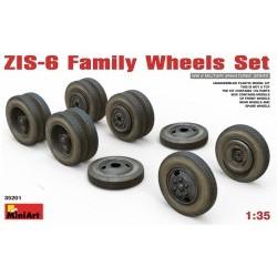 1/35 ZIS-6 Family Wheels Set - MNA35201