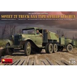 1/35 Soviet 2 t Truck AAA Type w/Field Kitchen - MNA35257