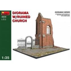 1/35 Diorama w/Ruined Church - MNA36030