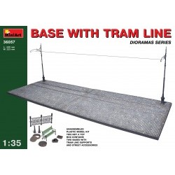1/35 Base with Tram Line - MNA36057