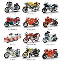 1/32 12 Assorted Styles : 750 Imola '72 or 750 Sport '73 or 900 SS '75 or 900 M.HReplica '79 or 851 Super Bike '88 or 750 F1 '84 or Siluro '56 or 125 GS Marianna '56 or 250 Bicilindrico '60 or 500 GP '71 or 450 Scrambler '70 or 888 SBK Falappa '92  - NRA0