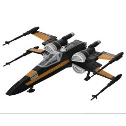 "Star Wars Build & Play ""Poe's boosted X-wing Fighter"" (Episode VIII)  - REV06763"