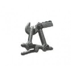 Ganci realistici in metallo (set 10 pezzi) - RIVHC8053