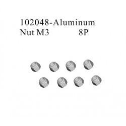 Aluminum Nut M3 - RKO102048