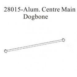 RK Aluminium centre main dogbone - RKO28015