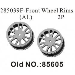 RK Front wheel rims aluminium (2 pc) - RKO85605