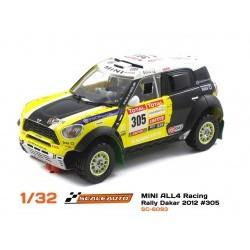 MINI ALL4 Racing Dakar 2012 #305 Roma/Périn 2nd place - SCASC-6093