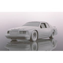 Ford Thunderbird - Red & White - NEW TOOLING 2019 - SCTC4067