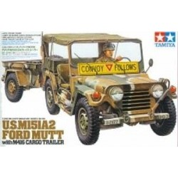 1/35 M151A2 Ford Mutt with M416 Cargo Trailer - TAM35130