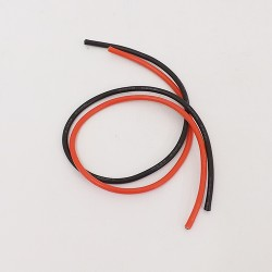 Wire AWG 12x500mm red and black color - YTOWIRE12
