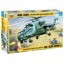 1/72 Russian Attack Helicopter MiL MI-35 Hind E - ZVE7276ZS