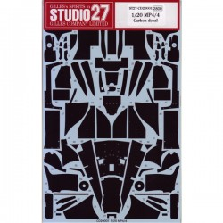 1/20 Carbon decal for MP4/4 (for TAM)