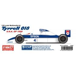 1/20 Tyrrell 018 GP of USA (1990)