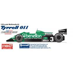 1/20 Tyrrell 011 DETROIT GP 1983