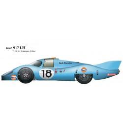 1/24 917LH-71 No.18 Ver.B '71 LM #18 P. Rodriguez /J. Oliver