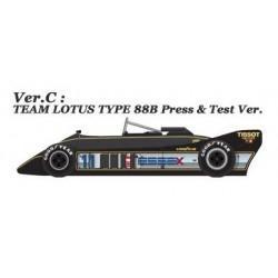 1/43 Lotus 88B ver.C 1981 Press & Test Ver.(JPS Ver.)