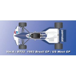 1/43 BT52 ver.A 1983 Rd.1 Brazilian GP/ Rd.2 U.S. West GP