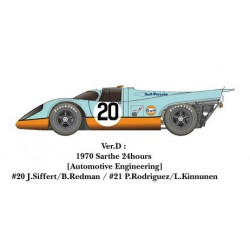 1/24 917K ver.D 1970 Sarthe 24hours [Automotive Engineering] #20 J.Siffert/B.Redman / #21 P.Rodriguez/L.Kinnunen