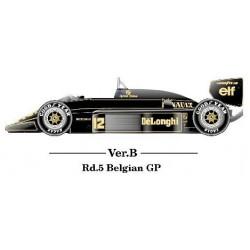 1/12 Lotus 98T ver. B Belgian GP