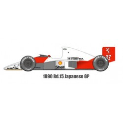1/12 MP4/5B ver. D 1990 Rd.15 Japanese GP