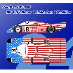 1/12 P956 Ver.D 1985 LM #8 G.Follmer/J.Morton/K.Miller