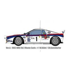 1/12 Lancia 037 Ver.A 1983 WRC Rd.1 Monte Carlo #1 Rohrl/Geistdorfer